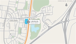 Federal funding drives delivery of Lakelands Station