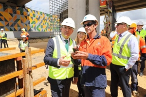 Full steam ahead preparing for construction of the Morley-Ellenbrook Line