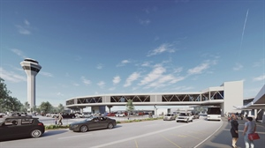 Skybridge to connect Perth airport to new Metronet Airport Central Station.